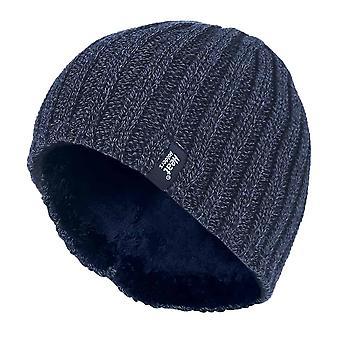 Mens fleece fodrad termisk vinter varm mössa hatt