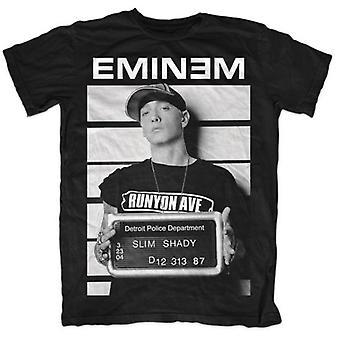 Eminem - Arrestera mäns X-Large T-Shirt - Svart