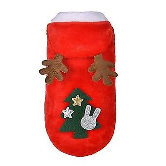 Santa Costume For Pug Chihuahua Yorkshire Pet Clothing Jacket Coat