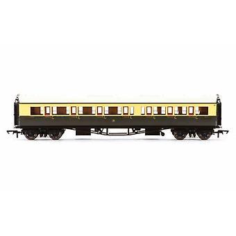 هورنبي R4761 GWR كوليت مدرب ممر مركب LH مدرب 6530 00 قياس