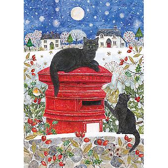 Otter House Christmas Post Jigsaw Puzzle (1000 Pieces)
