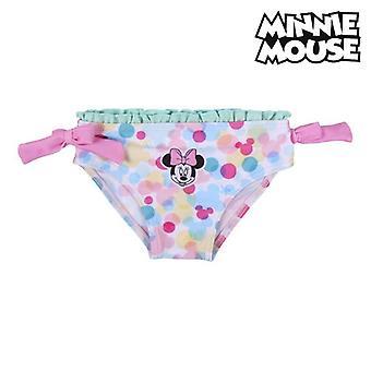 Bikini Bottoms For Girls Minnie Mouse White