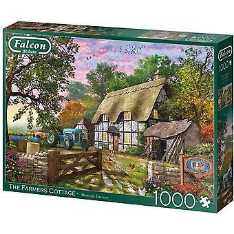 Jumbo 11278 Falcon The Farmer's Cottage 1000 Piece Jigsaw