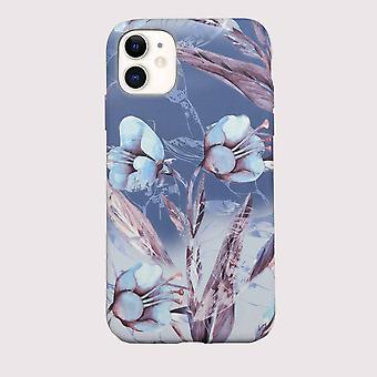 Eco friendly iphone 11 case - blue iris