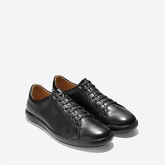 Cole Haan Grand Crosscourt Ii Zapatillas de Cuero Hombre Negro