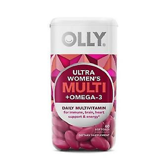 Olly Ultra Women's Multi + Omega-3 Softgels