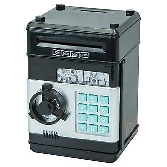 الإلكترونية الخنزير بنك آمنة المال الادخار مربع المصرفية اللعب الرقمية القطع النقدية إيداع