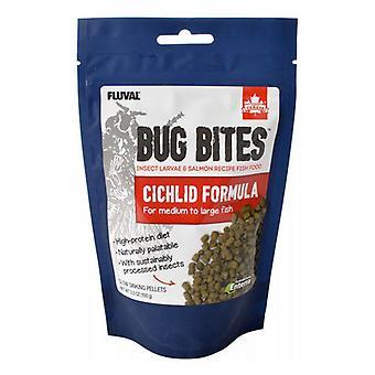 Fluval Bug Bites Cichlid صيغة للأسماك المتوسطة والكبيرة - 3.5 أوقية
