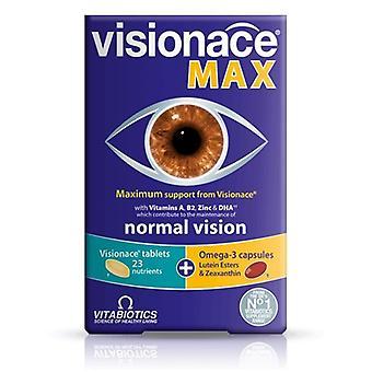 VITABIOTICS VISIONACE MAX 28 TABS / 28 CAPSULES