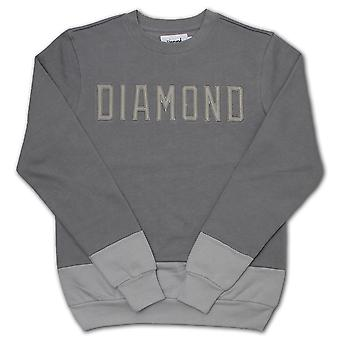 Diamond Supply Co School Yard Sweatshirt Grey