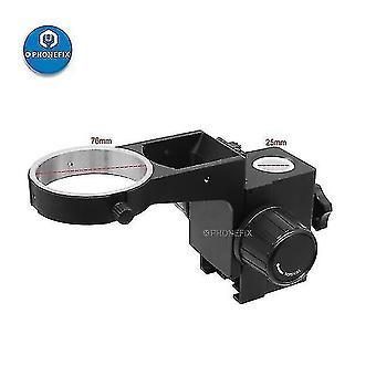 Telescopes 76mm diameter stereo zoom microscope adjustable focusing bracket focusing holder trinocular