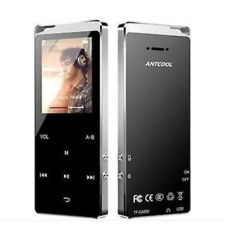 Bluetooth Music Player 16gb Mp4 kannettavalla metallikaiuttimella häviötön