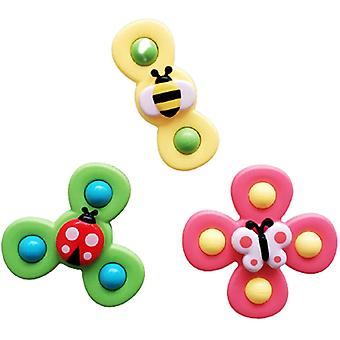 Gyro Insekt Sucker Legetøj, baby Gyro Peg Legetøj Bord middag lindre vandbad legetøj til baby