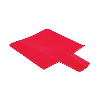 ألوان الأحمر مرنة قابلة للطي المجلس المطبخ البلاستيك قطع ألواح التقطيع