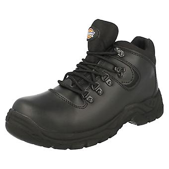Mens Dickies Safety Footwear Fury S/S Hiker Bt