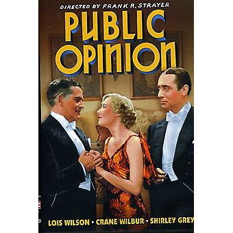 Public Opinion [DVD] USA import