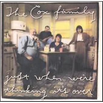 Cox Family - Just when We're Thinking It's [CD] USA import