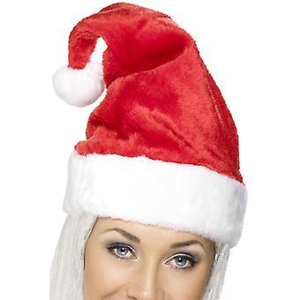 KERSTMUTS KERSTMAN HOED luxe pluche Hat kerst