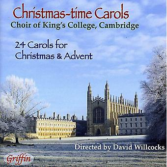 Choir of King's College, Cambridge/ Davi - Christmas-Time Carols [CD] USA import