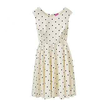 Joules Amelie dames geweven Pannelled 50 S stijl jurk (U)