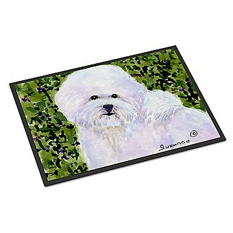 Carolines Treasures  SS8817MAT Bichon Frise Indoor Outdoor Mat 18x27 Doormat
