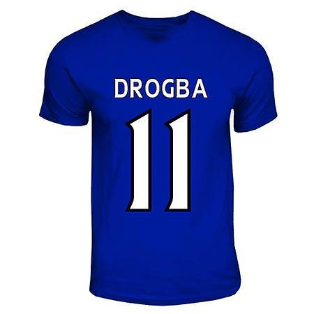Didier Drogba Chelsea Hero T-shirt (royal Blue)