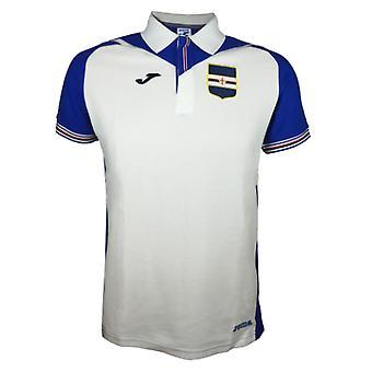 2017-2018 Sampdoria Joma Polo Shirt (White)