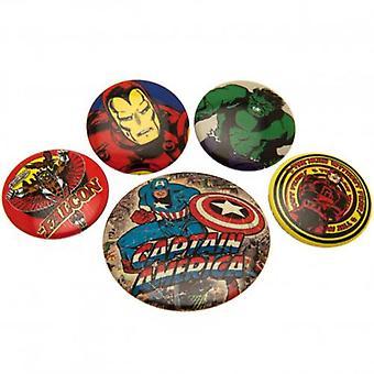 Marvel Comics Taste Abzeichen Set