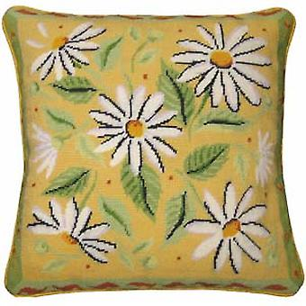 Yellow Daisies Needlepoint Kit