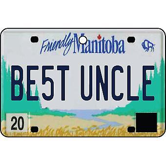 MANITOBA - beste oom License Plate auto luchtverfrisser