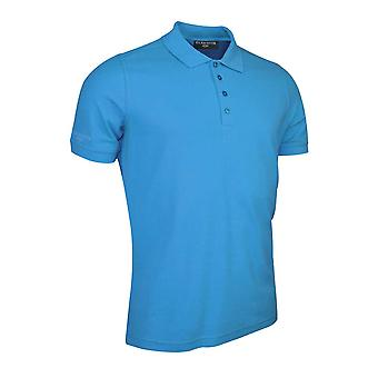 Glenmuir Mens Short Sleeve Kinlock Pique Cotton Polo Shirt