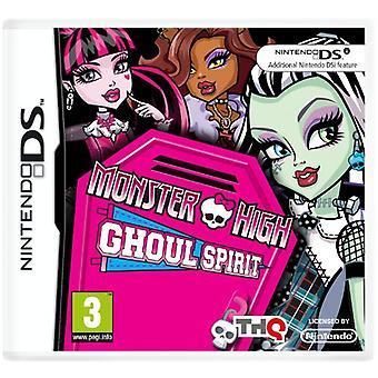 Monster hög Ghoul Spirit (Nintendo DS)-nya