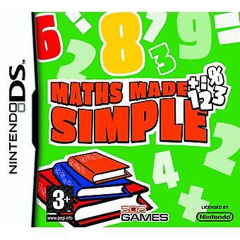 Matematik Made Simple (Nintendo DS) - Som ny