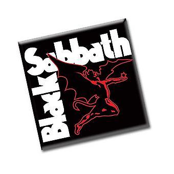 Black Sabbath Kühlschrank Magnet Dämon band Logo neue offizielle 76 x 76 mm