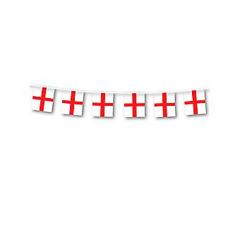 Inglaterra St George plástico Bunting
