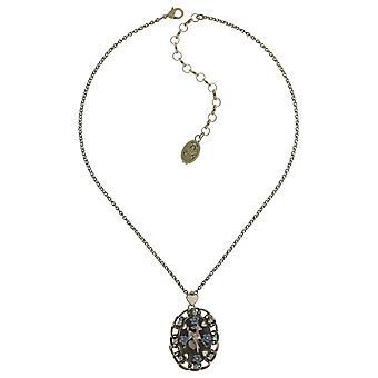 Konplott nyaklánc Collier arzén a régi csipke fény pasztell több antik kis