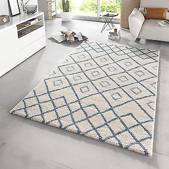 Design high pile carpet Maison Blau cream