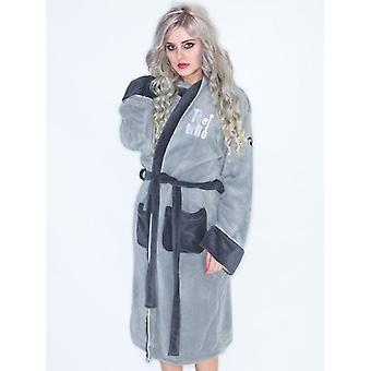 WHO LEAP grå badekåpe / Dressing kappe - nye & offisiell med Tag