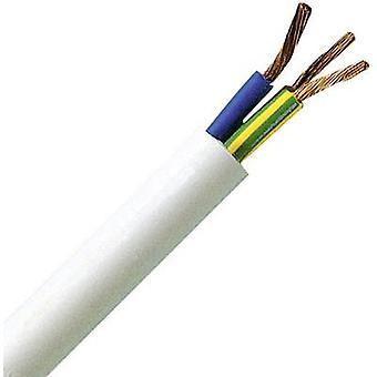 Kopp 151810842 Flexible cable H05VV5-F 3 G 1.50 mm² White 10 m