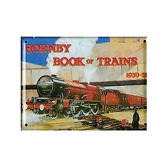Hornby Trains 1930 - 31 Metal Postcard / Mini Sign / Fridge Magnet