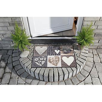 Lion de salon plancher lavable du coeur bonheur Alpes mat style campagnard