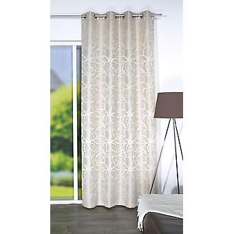 Home Wohnideen Vorhang »LENNY« Ösen (1 Stück) Dekostoff Jacquardgemustert H/B 245x135 cm