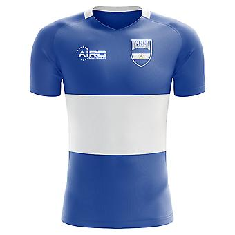 2020-2021 Nicaragua Home Concept Fußball Shirt - Baby