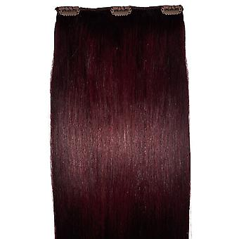 #99J Mahogany - Intense Red - Clip in Hair Piece - #99j - Mahogany