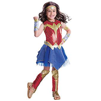 Wonder Woman Movie Deluxe DC Comics Superhero Licensed Girls Costume