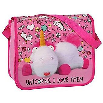 Verachtelijke Me Minions Eenhoorn roze messengertas