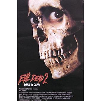 Evil Dead II poster U.S. versie
