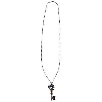 Naszyjnik steampunk klucza OK. 42 cm długo akcesoriów naszyjnik Halloween karnawał