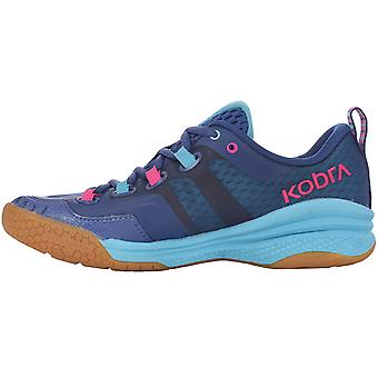 Salming Womens Kobra 2 Indoor Sports Training Shoes Trainers - Blue/Pink