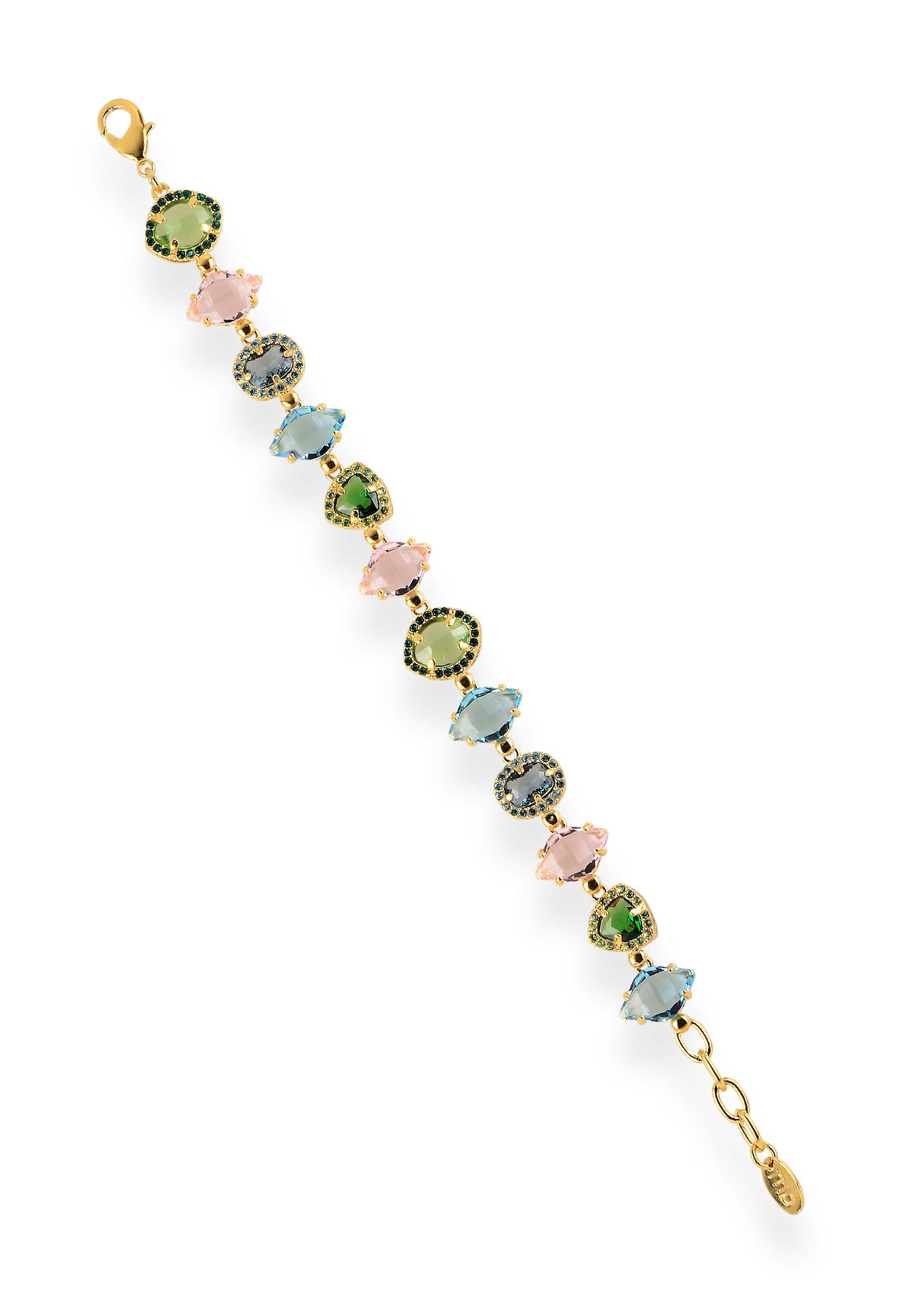 Multicolor bracelets with crystals from Swarovski 6260